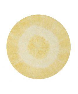 Dywan bawełniany TIE-DYE Yellow