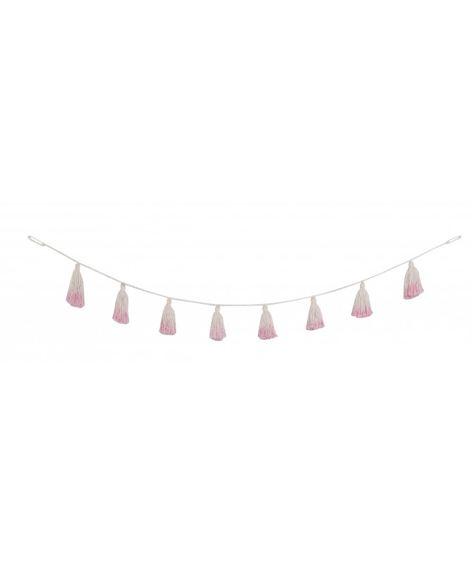 Girlanda Tie-Dye Pink