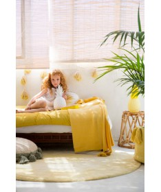 Girlanda Tie-Dye Yellow