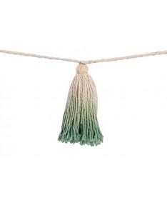 Girlanda Tie-Dye Green