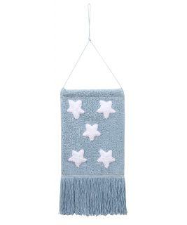 Dekoracja na ścianę Wall Hanging Stars Blue