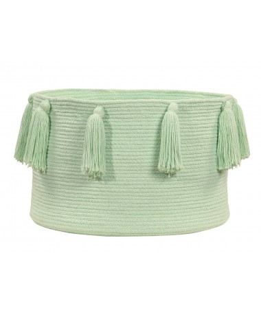 Kosz Basket Tassels Soft Mint