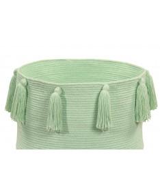 Kosz Basket Tassels Soft Mint