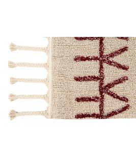 Dywan Bereber Burgundy, 100% bawełny, do prania w pralce, 140x200 cm Lorena Canals