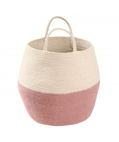 Kosz Basket Zoco Ash Rose/Natural