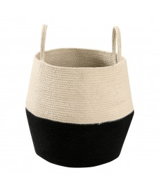 Kosz Basket Zoco Black/Natural