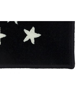 Dywan ESTRELLITAS granatowy w białe gwiazdki 100% akryl ,  120X 160 cm Lorena Canals