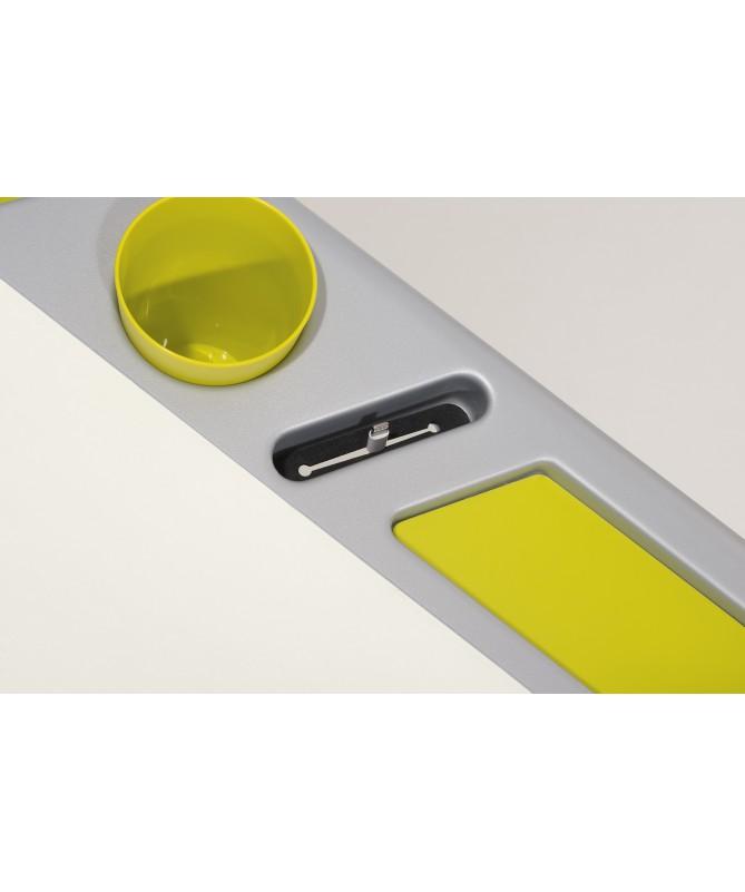 Biurko Tablo klonowe,  słoneczna żółć PAIDI