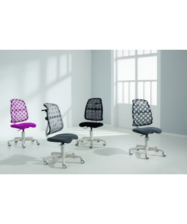 Krzesło regulowane SINO Dots-blackberry/blackberry