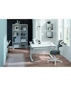 Krzesło regulowane SINO Dots-white/grey