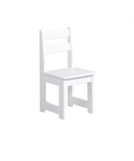 Krzesełko Białe Maluch PINIO