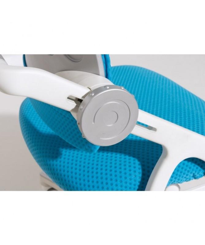 Krzesło regulowane Yvo szaro-białe PAIDI