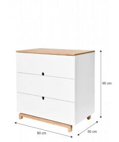 Komoda 3-szuflady NOMI Bellamy