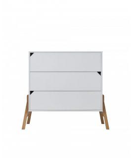 Komoda 3-szuflady LOTTA WHITE Bellamy