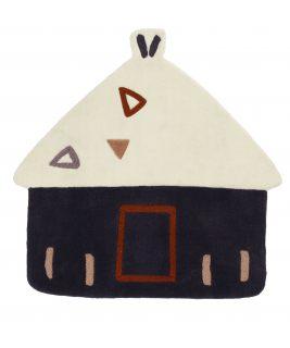 Dywan w kształcie domku KENZA