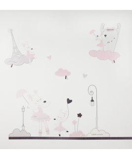 Naklejki ścienne, Kolekcja Lilibelle, Sauthon