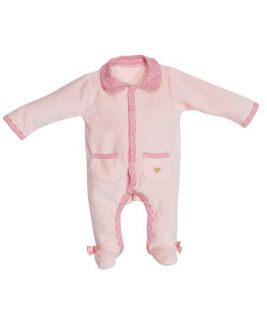 Aksamitna piżamka 1 miesiąc HELLO, Sauthon