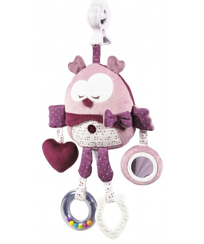 Zabawka edukacyjna z klipsem, kolekcja mam'zelle Bou, Sauthon