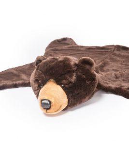 Dywan ciemno-brązowy miś Henry, Wild&Soft