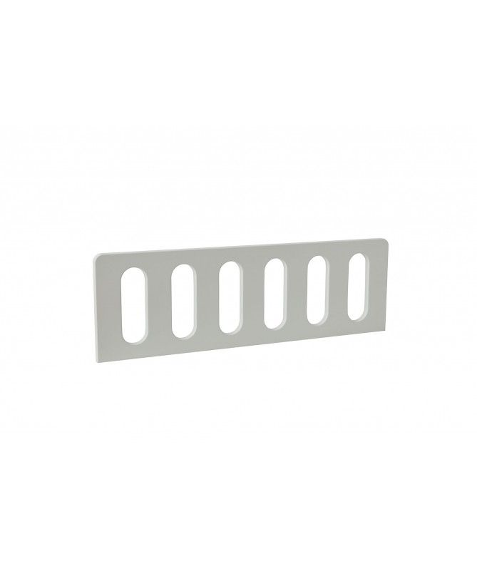 Barierka biała MODERN (2 szt.) - 200x90 cm, PINIO