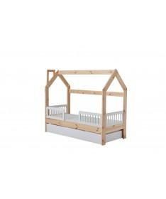 Łóżko-domek 200x90 cm, PINIO