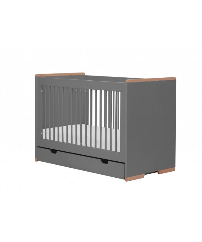 Łóżeczko 120x60 cm - Snap, PINIO