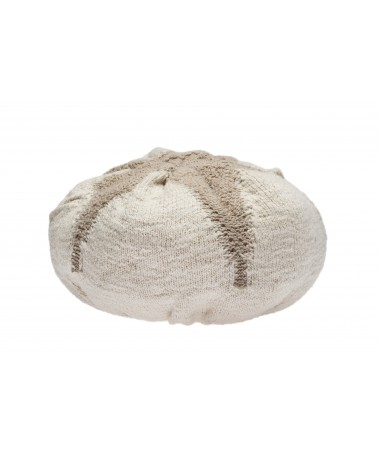 Poduszka, Knitted cushion Cotton Boll