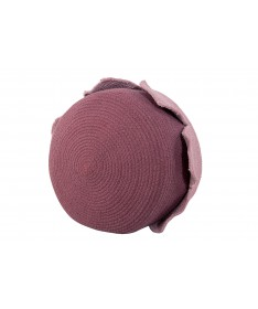 Kosz Basket Petals Ash Rose - Dark Aubergine