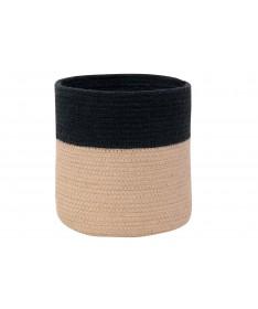 Kosz Basket Dual Black - Linen